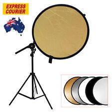 Studio Photo Kit Reflector Bracket Arm + Light Stand + 5in1 110cm Reflector Disc