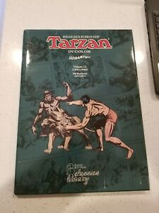 Tarzan in Color Vol 13 Hal Foster Burne Hogarth - NBM Oversized Hardcover