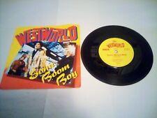 WESTWORLD - Sonic Boom Boy ~7inch Vinyl Single very good condition+