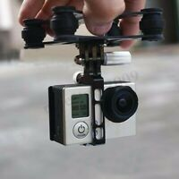 Camera Gimbal Mount Carbon for GoPro Hero for DJI Phantom RC Drone  @, ↻ u