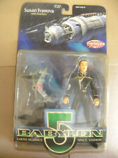New ListingWb Diamond 1997 Babylon 5 Susan Ivanova +Action Figure mip mf