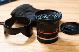 Samyang 12mm f/2,0 NCS CS Objektiv für Sony E-Mount - Schwarz