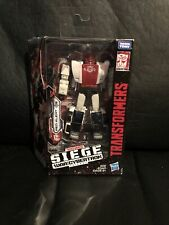 Hasbro Transformers Siege War for Cybertron RED ALERT Deluxe Class *BRAND NEW*