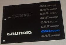 Betriebsanleitung Grunding Autoradio WKC 2670 VD