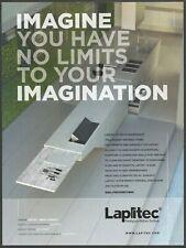LAPITEC . Prestigious Italian Surface - 2016 Print Ad