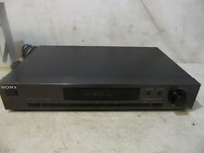 Sony ST-JX521 Vintage AM/FM Stereo Tuner Quartz Digital Synthesizer Works Excell