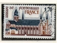 TIMBRE FRANCE OBLITERE N° 2002 ABBAYE DE FONTEVRAUD / Photo non contractuelle