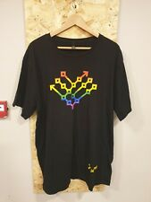 District Made Mens Black Graphic T-Shirt Size 2XL