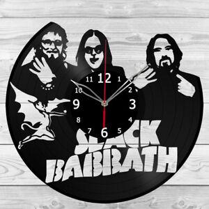 Vinyl Clock Black Sabbath Vinyl Record Wall Clock Home Art Decor Handmade 5161