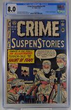 Crime Suspenstories #10 CGC 8.0 EC Comics 1952 Pre Code Horror