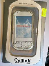 Samsung Galaxy 5 i5500, i5508 Fitted TPU Flexible Skin Case in Clear TPU6414-101