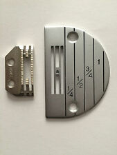 INDUSTRIAL SEWING STANDARD NEEDLE PLATE & FEEDER SET