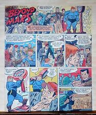Beyond Mars by Jack Williamson - scarce full tab Sunday comic page July 26, 1953