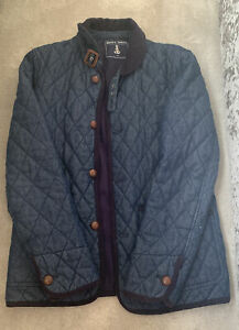 Mens Shore Leave Quilted Jacket Size M