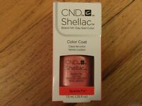 CND Shellac Gel Nail Polish Full Size 0.25 oz - New in Box - Sparks Fly