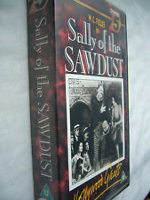 SALLY OF THE SAWDUST D.W. Griffith W.C. Fields VHS PAL small box