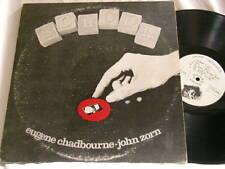 EUGENE CHADBOURNE & JOHN ZORN School Henry Kaiser Parachute vinyl 2 LP set