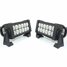 """6"""" 7"""" inch Flood LED Bright White Vehicle Light Bar for Truck bus Fire Fighters"""