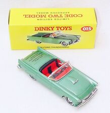 Matchbox Dinky Toys 1:43 FORD THUNDERBIRD 1955 OPEN TOP Model Car Code-2 015 MIB