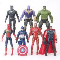 """Kids Toy Marvel Avengers 7"""" Action Figures Endgame Iron Man Thanos Thor Captain"""