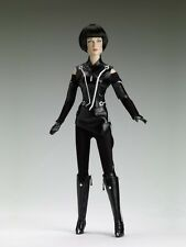 Tonner Tron Legacy Quorra raven black pleather in bag MIB New
