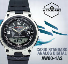 Casio Analog Digital Watch AW80-1A2