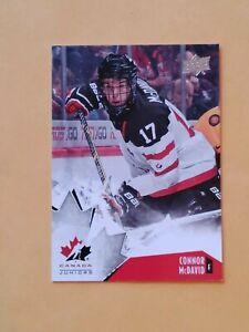 2015 Upper  Deck Team Canada Juniors #90 Connor McDavid SP Edmonton Oilers