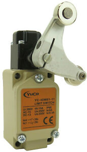 YuCo YC-40M81-11 Replacement Limit Switch Roller Lever Type WL CA32-41-43