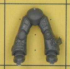 Warhammer 40K Ángeles de marines espaciales oscuro Ravenwing comando escuadrón piernas (C)