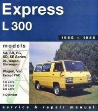 New Mitsubishi Express L300 1980-1985 Gregory's Repair Manual