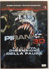 Dvd Piranha 3D (2D + 3D anaglyph) con Richard Dreyfuss 2010 Usato