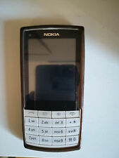 Nokia X3-02 Touch & Type White Silver SBLOCCATO Smartphone Mobile + CARICA AUTO
