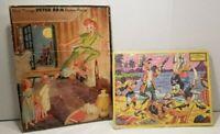 Lot of 2 Walt Disney 1950's Vintage Picture Inland puzzles