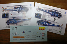 [FFSMC Productions] Decals 1/43  Alouette III Gendarmerie basique et dernier vol