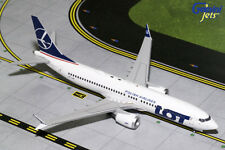 Gemini Jets 1:200 Scale LOT Polish Airlines Boeing 737 MAX 8 SP-LVA G2LOT707