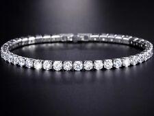 Tennis Bracelet Ladies Womens Premium quality Crystal Diamonte bangle with free