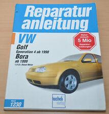 VW Golf 4 IV 1J Generation Bora Motor Getrieb 1,9l Reparaturanleitung B1230