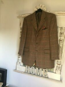 An Exquisite 'Johnstons of Elgin' Gents Jacket 100% Cashmere Size 42R,