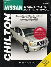 2004-2014 Nissan Titan Armada Chilton Repair Service Workshop Manual Guide 112X