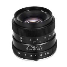 For Sony Alpha Series Camera Fixed Prime Lens 50mm Focal Length F1.8-F16