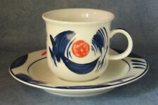 ARABIA OF FINLAND, Arctica Nova Coffee cup & Saucer, Excellent Condition