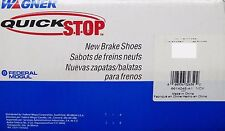 BRAND NEW WAGNER QUICK STOP REAR BRAKE SHOES Z735 / 735 FITS VEHICLES ON CHART