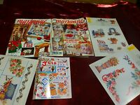 lot marianne maison et enfants  catalogue 1997 ,des idées des idées  tricot ,