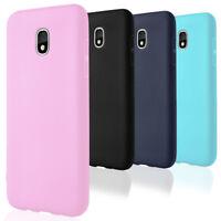 Bumper pour Samsung Galaxy J3 2018 Caoutchouc Coque Cover Thin Mât Protection