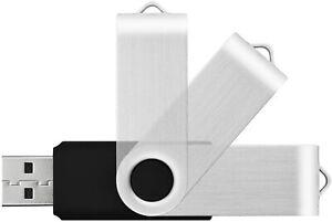 16GB USB Flash Drive Memory Stick Swivel Pen Storage Thumb Drive Kootion
