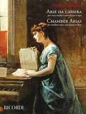 Chamber Arias for Medium Voice and Piano or Harp Vocal Book NEW 050600509