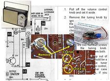Hoffman Solar Electrolytic Recap Kit BP706 EP706 KP706 PP707 RP706 TP706 Ch 1123