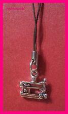 * Nähmaschine * Handyanhänger Schlüsselanhänger Taschenanhänger NEU   (c214)