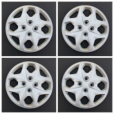 """New Wheel Covers Hubcaps Replacements Fits 2011-2016 Ford Fiesta 15"""" Set Of Four"""