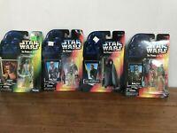 Star Wars Power of the Force Action Figures Luke Han Boba Fett Greedo Lot 1996